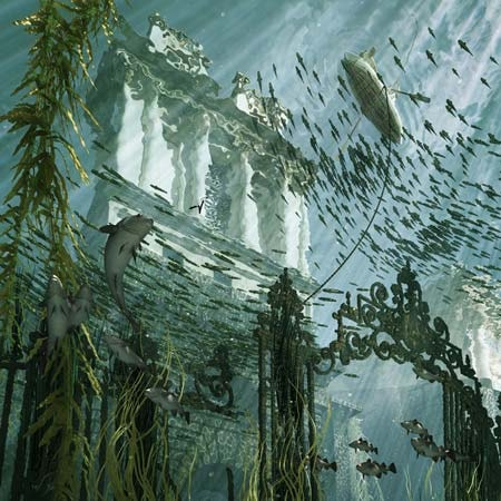 'Flooded London'   © Squint/Opera
