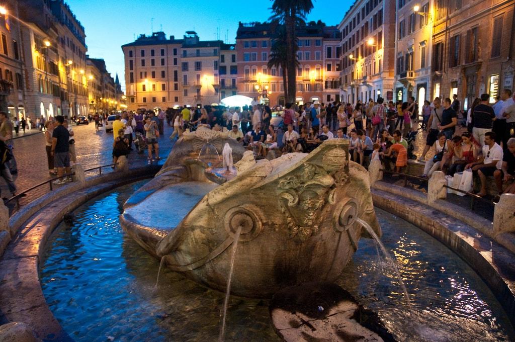 Fontana della Barcaccia | © flissphil / Flickr