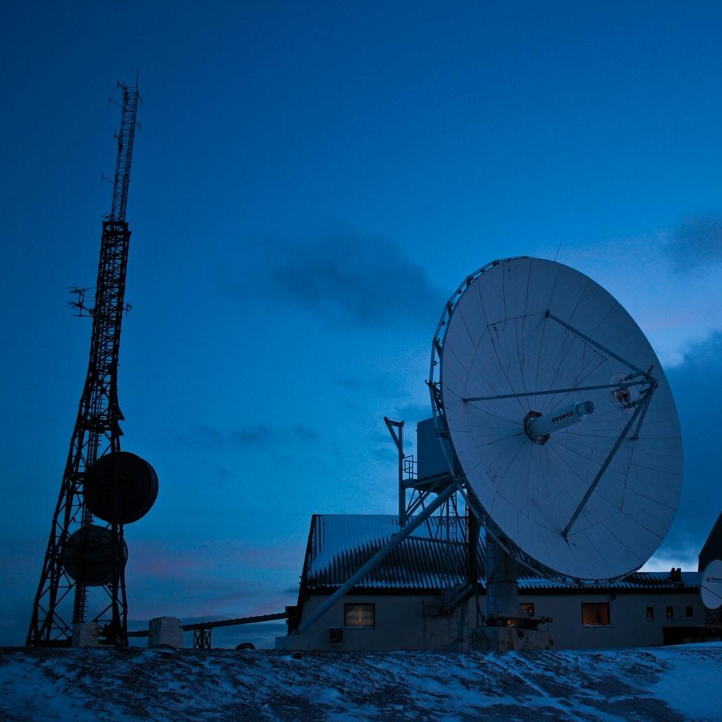 Isfjord Ration Station, Svalbard, one of the last places to go digital   © vargryder / Flickr