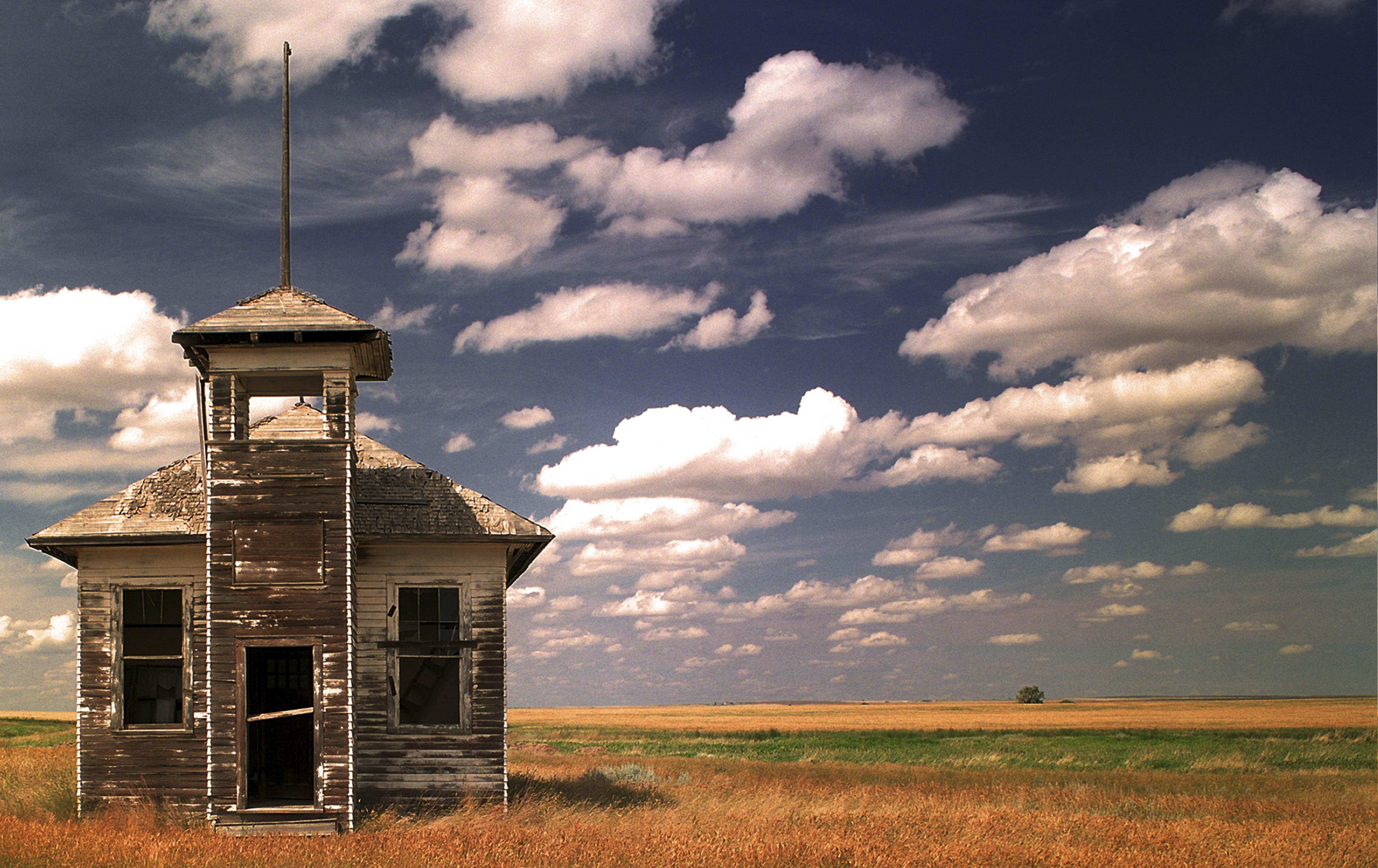 Abandoned School Fresno by Robert Cassway