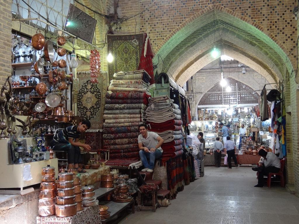Bazaar in Shiraz   © Adam Jones / Flickr