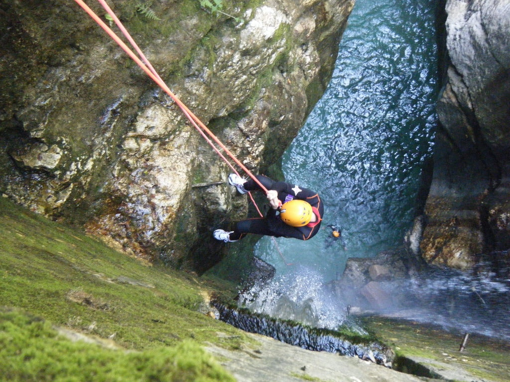 Canyoning | © Luigi Mengato/Flickr