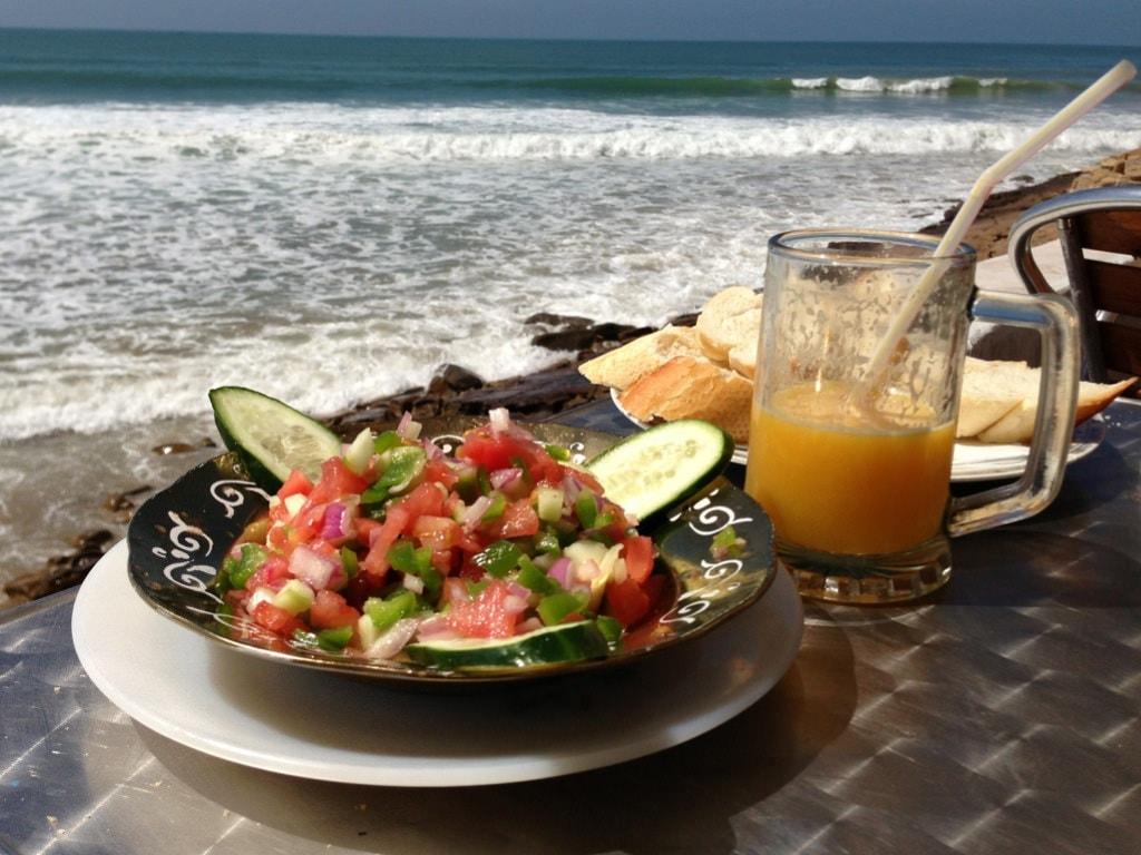 Lunch in Agadir
