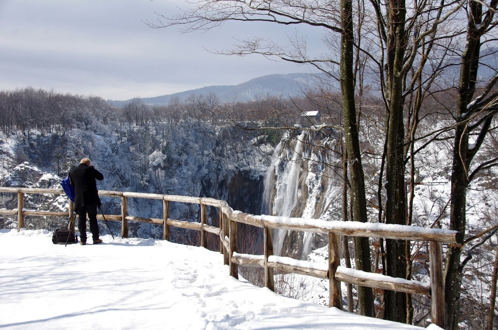 Snježana – a snowy scene in Plitvice | © Donald Judge/Flickr