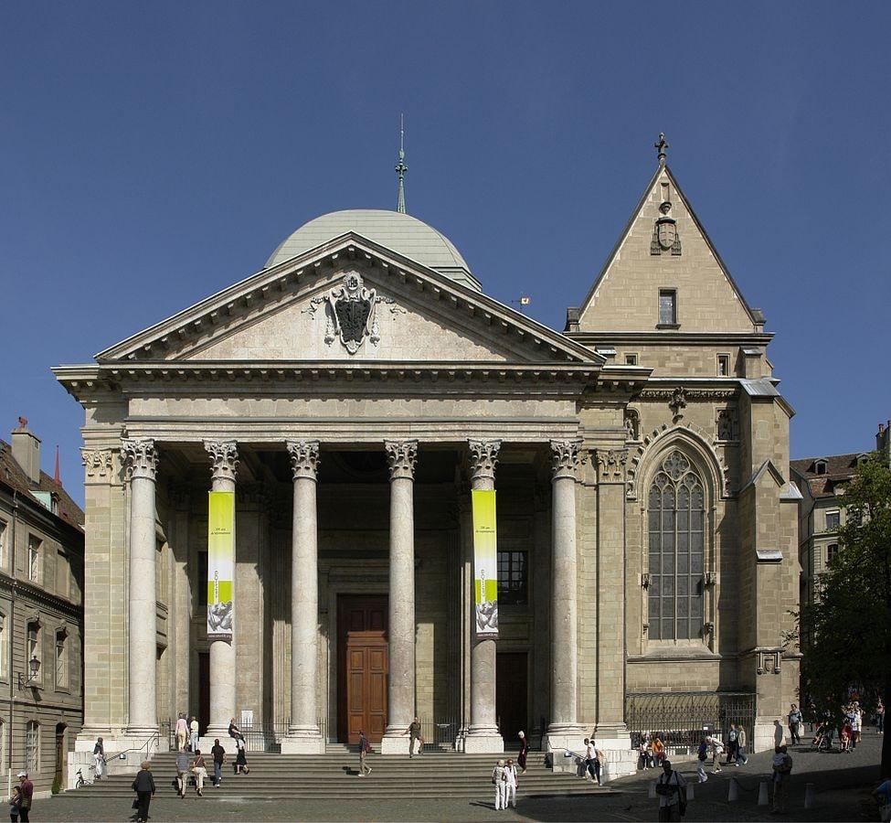 975px-Façade_de_la_cathédrale_Saint-Pierre_de_Genève