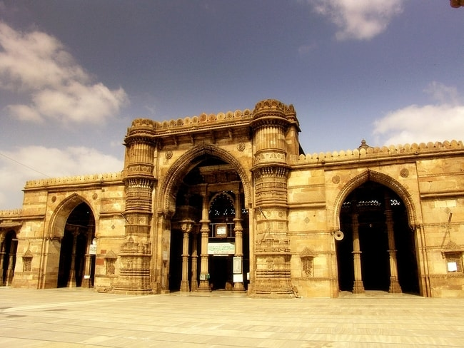 Jama Masjid in Ahmedabad |© Wiki Commons