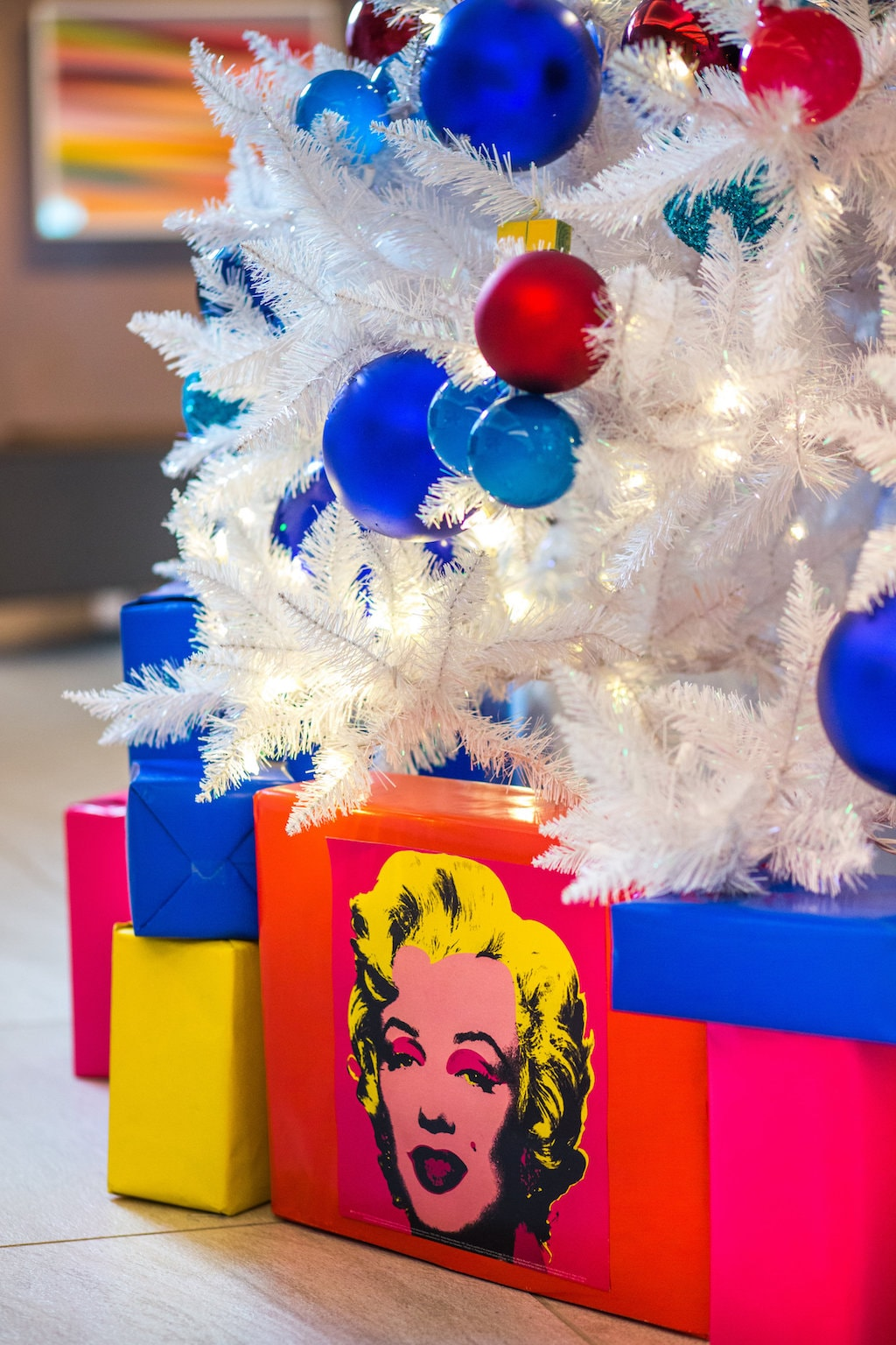 Detail of the Andy Warhol tree | Courtesy of the ART, a hotel.