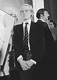 "Andy Warhol | <a href=""https://commons.wikimedia.org/wiki/Andy_Warhol#/media/File:Andy_Warhol_1977.jpg"" target=""_blank"" rel=""noopener"">© Jack E. Kightlinger / WikiCommons</a>"