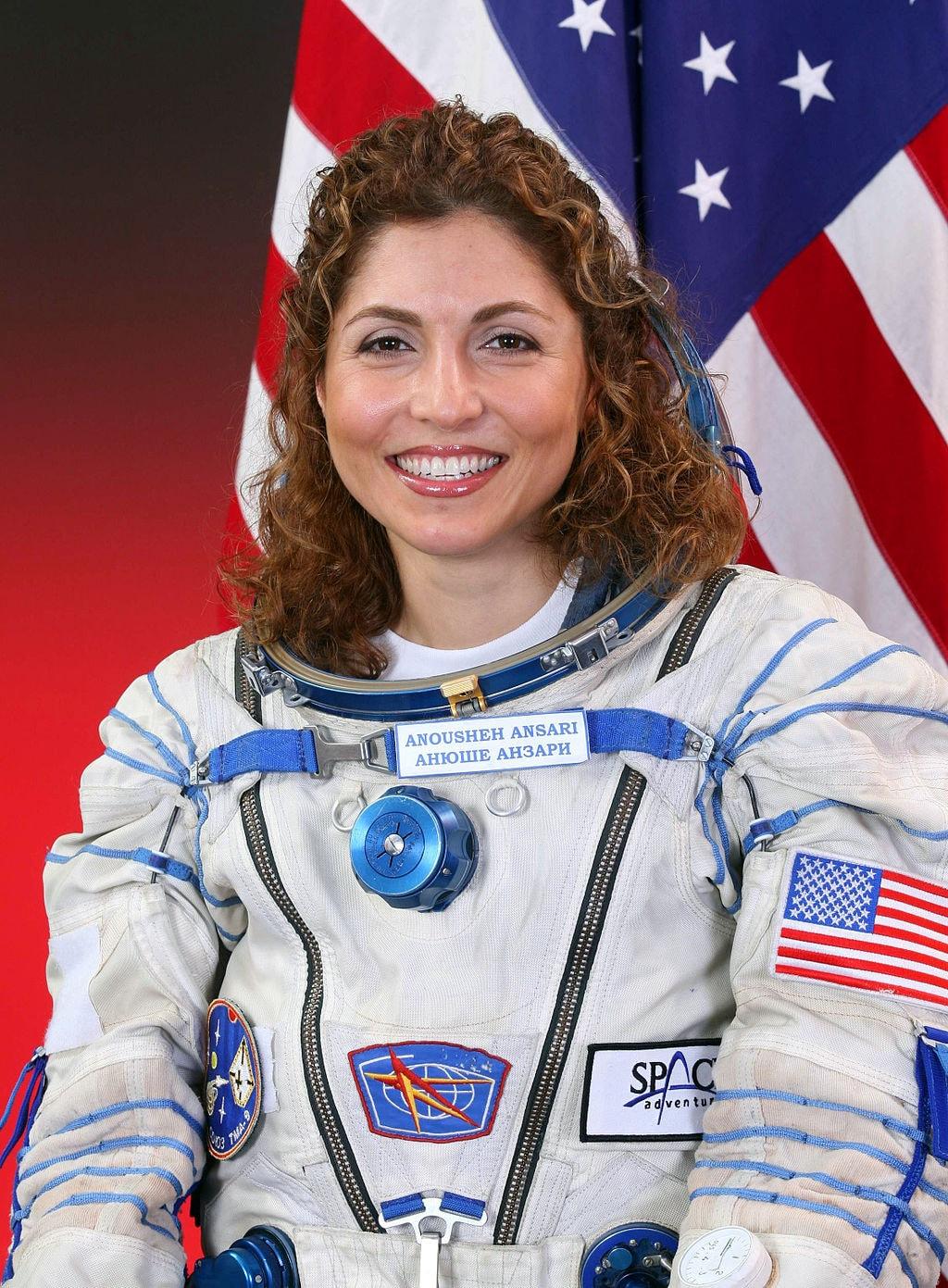 Anousheh Ansari, the first female private space explorer is Iranian-American | NASA / Wikimedia Commons