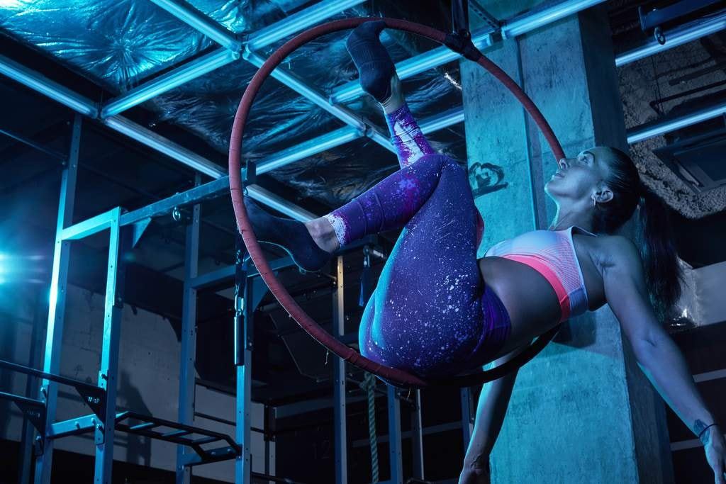 Ariel Hoop Class at Gymbox
