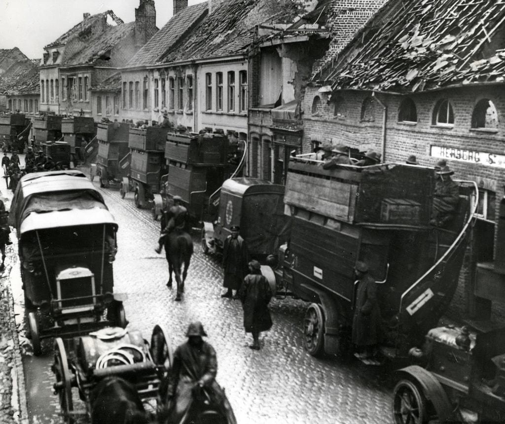B-Type Battle Buses 1914-1918 France