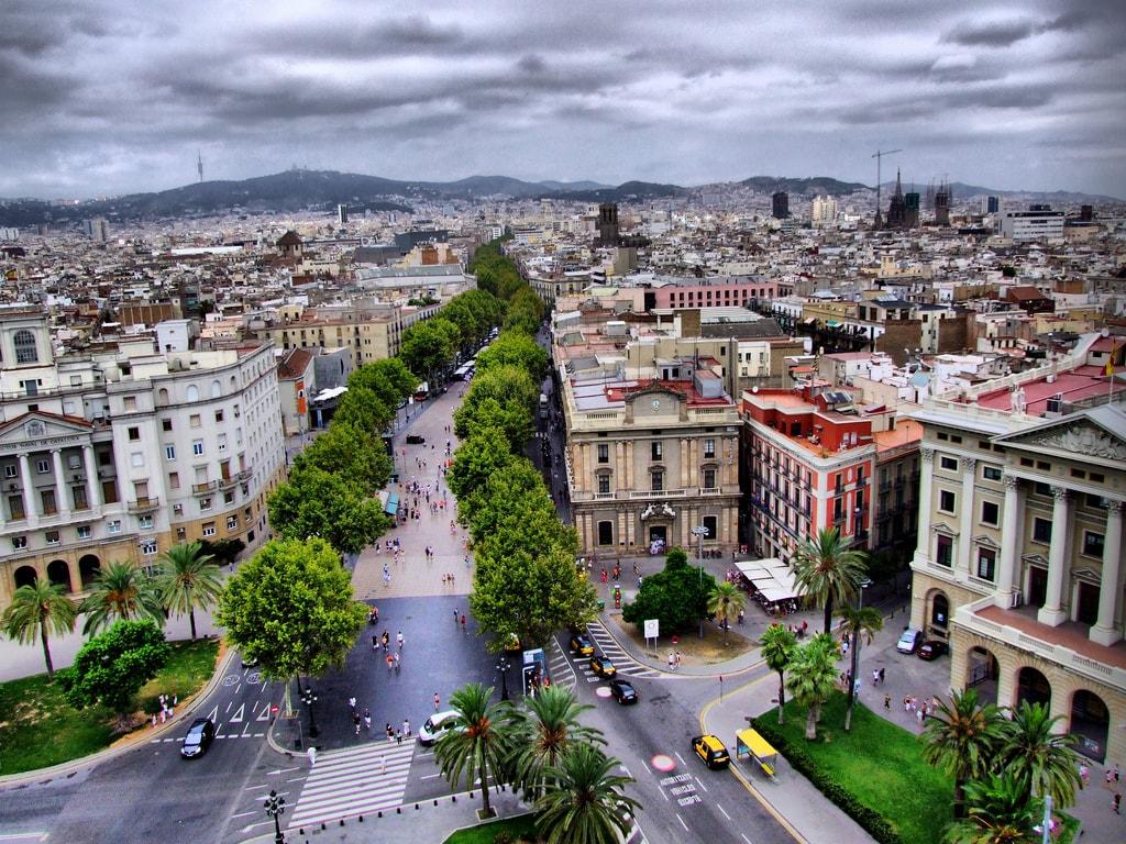 Barcelona La Rambla | ©xlibber / Flickr