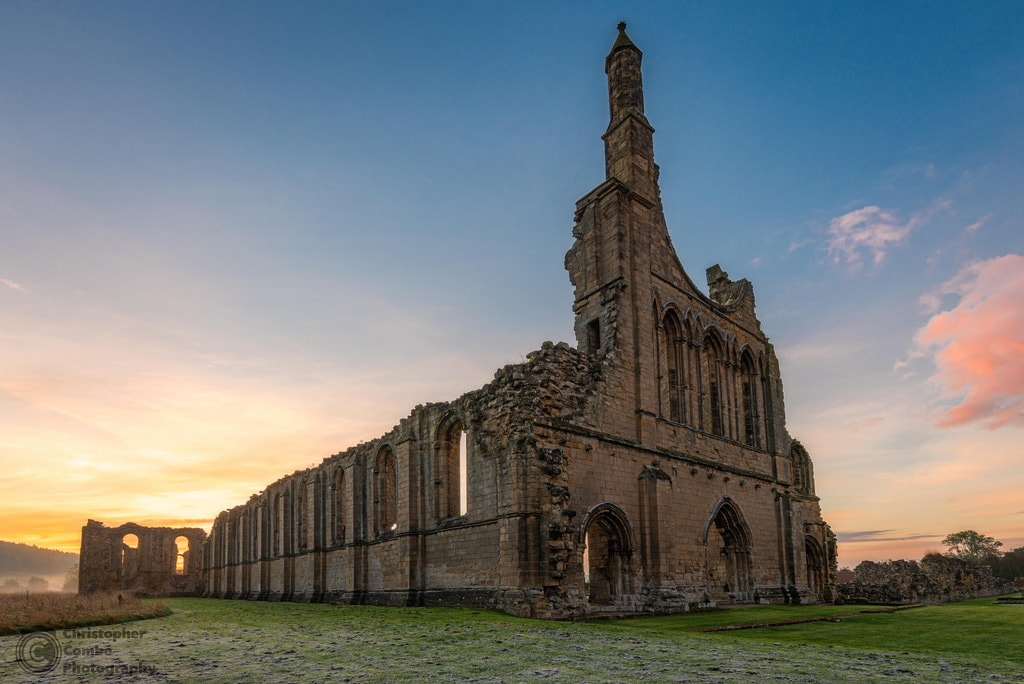 Byland Abbey ruins, Yorkshire | © Chris Combe Flickr