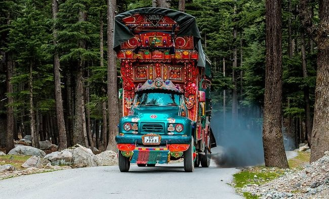 Decorated Trucks in Pakistan