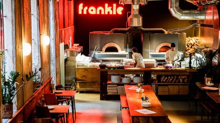 By the ovens Courtesy of Frankie Gallo Cha Cha Cha