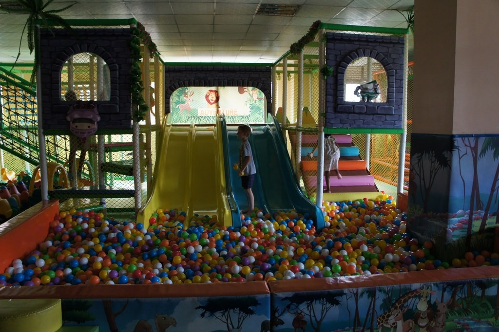 "Soft-play on a rainy day | <a href=""https://www.facebook.com/askannetterwanda/"" target=""_blank"" rel=""noopener"">Courtesy of Living in Rwanda – Ask Annette</a>"