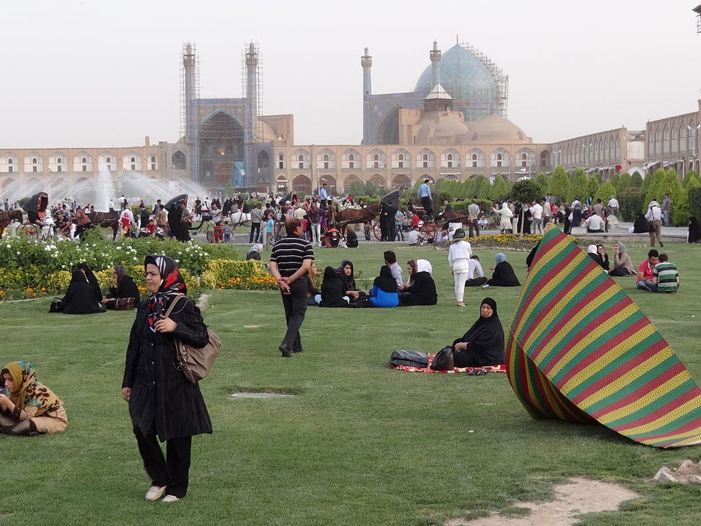 Imam Square in Esfahan | © Adam Jones from Kelowna, BC, Canada / Wikimedia Commons