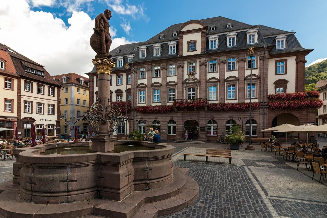 Heidelberg old town