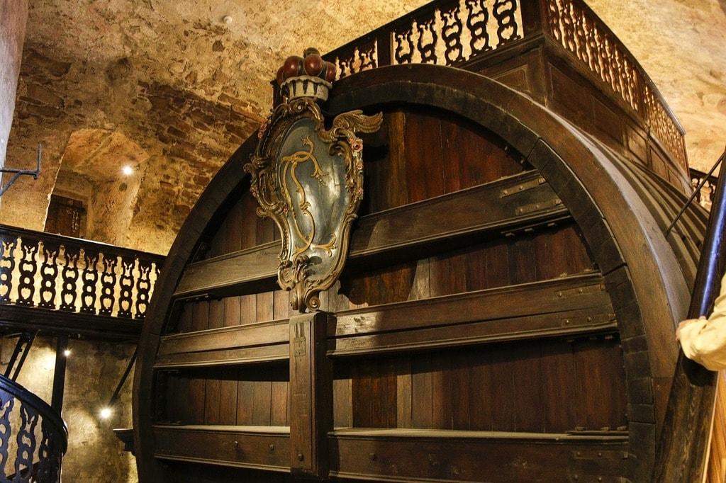 Heidelberg Tun, barrel