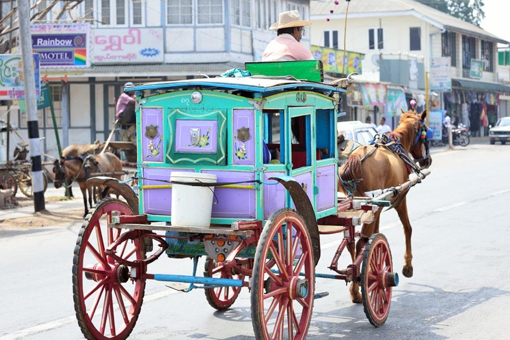 Horse-Carriage-Pyin-Oo-Lwin-Myanmar