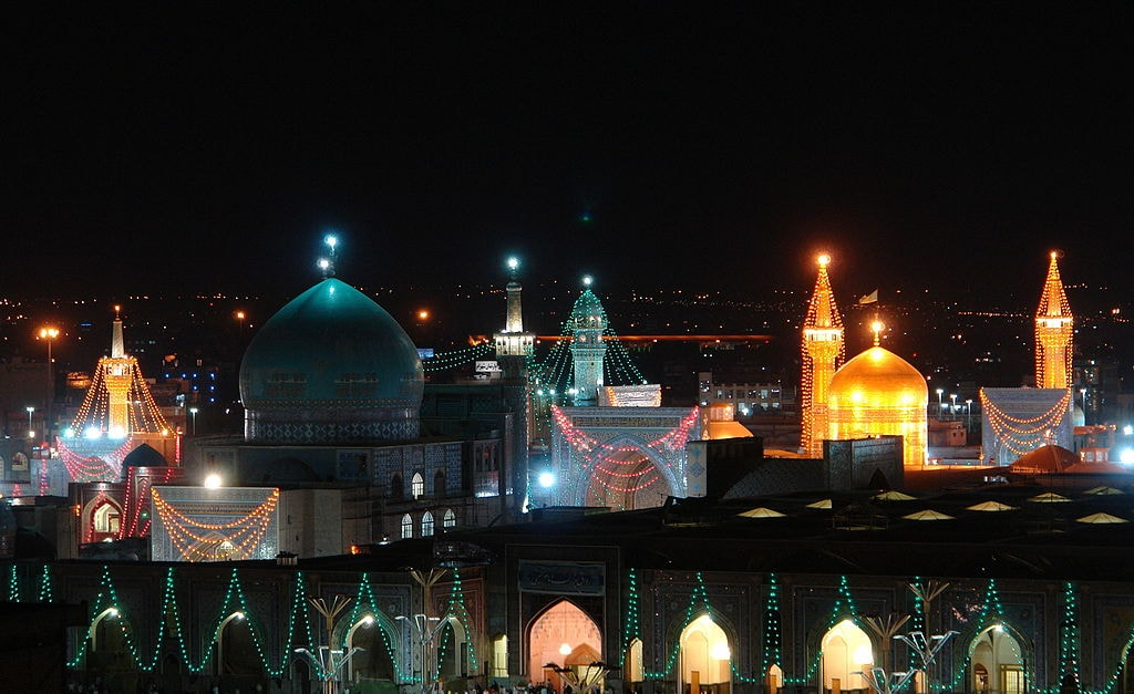 Goharshad Mosque in the Imam Reza Shrine Complex | © Mohebin14 / Wikimedia Commons