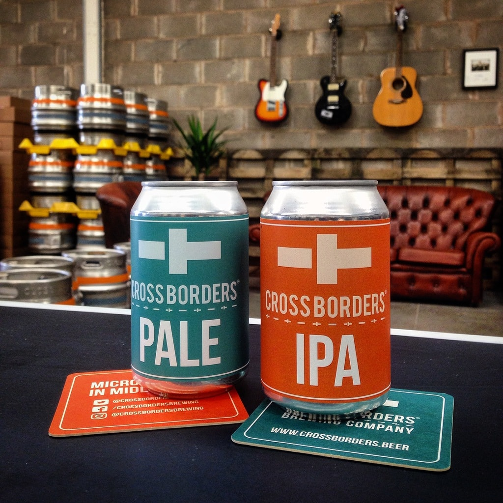 IPA © | Courtesy of Cross Borders Brewing Company