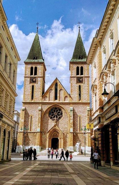 Sacred Heart Cathedral Sarajevo | © Sam Bedford
