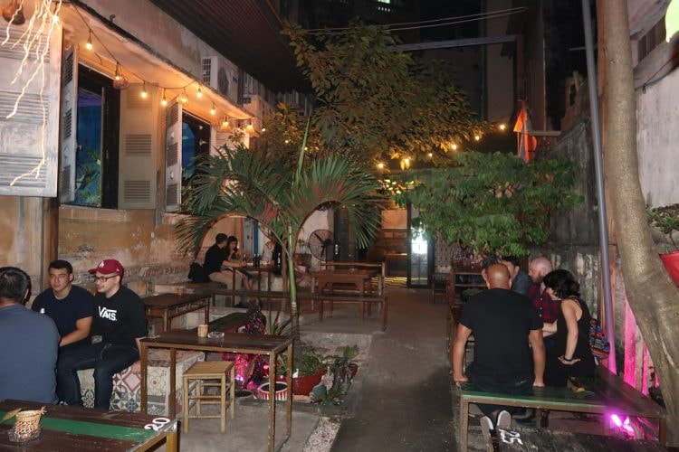 Indica's great patio | © Sam Roth