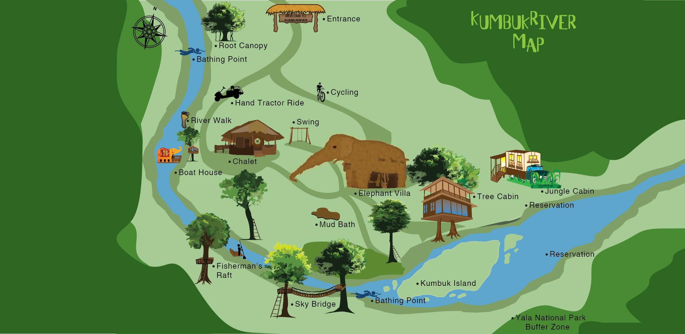 KumbukRiver Map