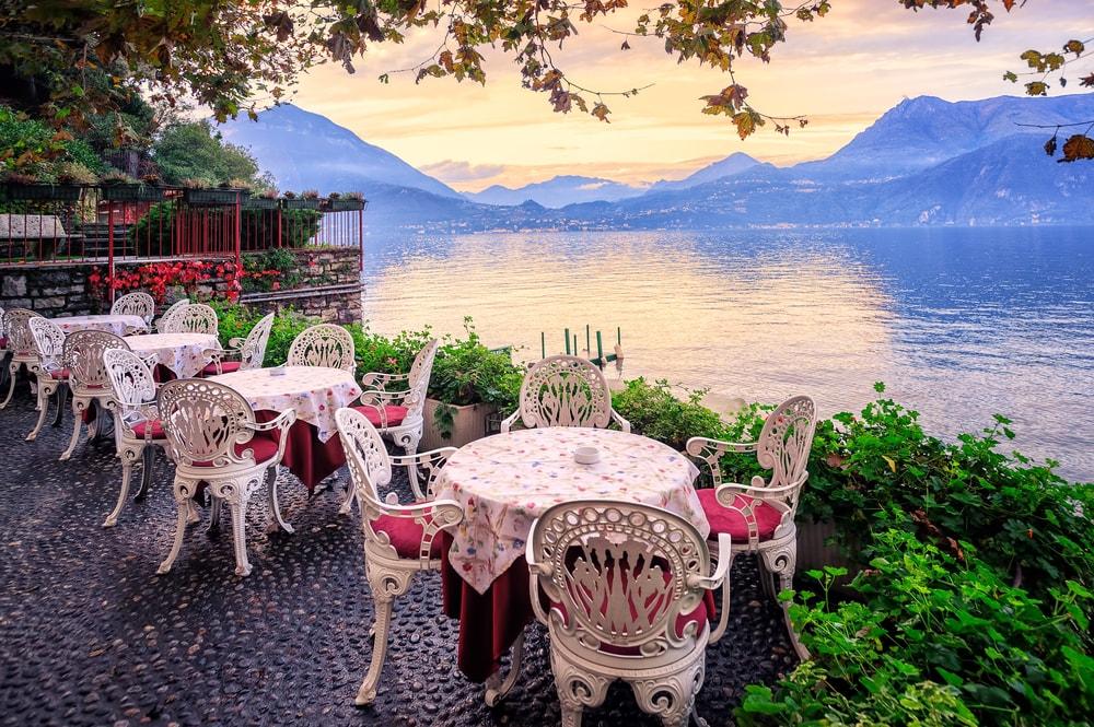 Lake Como at dusk   Boris Stroujko/Shutterstock
