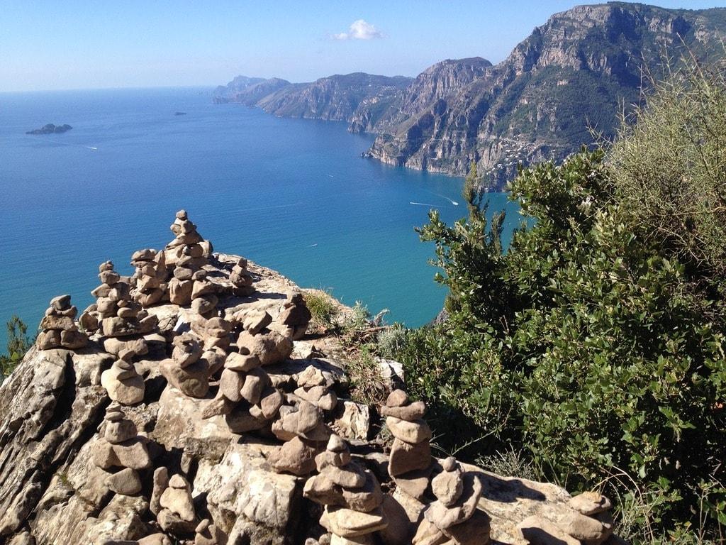 Landscape Amalfitana Way Of The Gods Coast