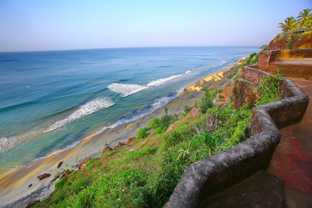 Live the hippie life at Varkala