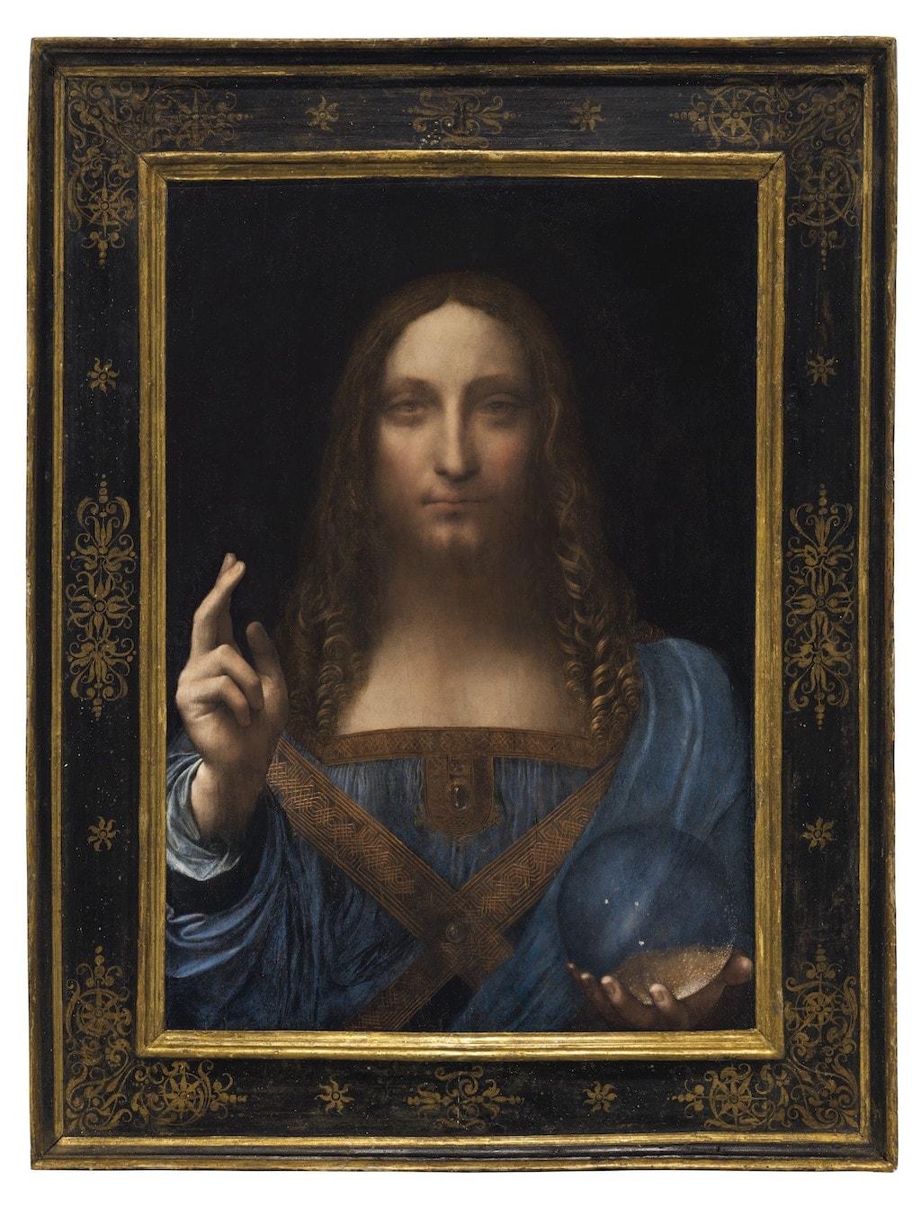 Leonardo da Vinci, Salvator Mundi, ca. 1500 | © Christie's Images Ltd.