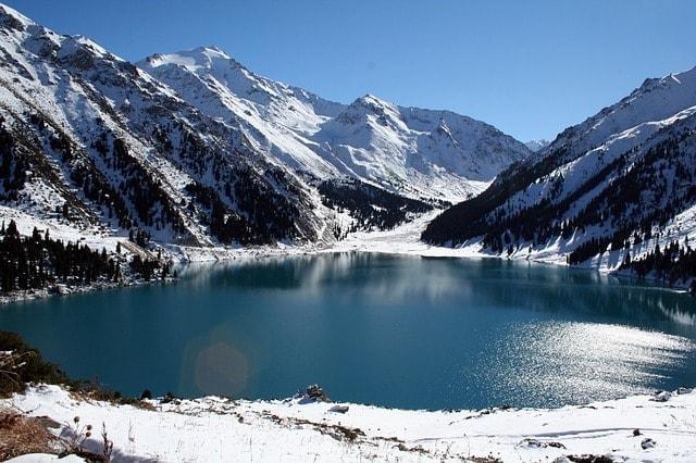 Tianshan Trans-ili Alatau Big Almaty Lake Kazakhstan