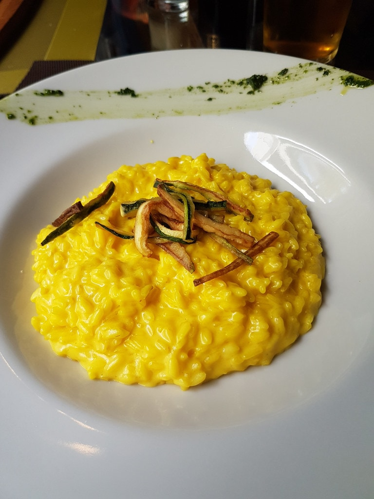 Saffron infused risotto typical of MIlan | © Paf - Games Sport Casino/Flickr
