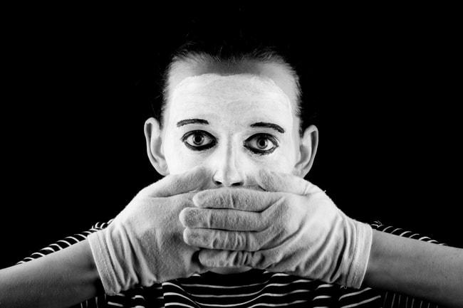 mime-not-speak
