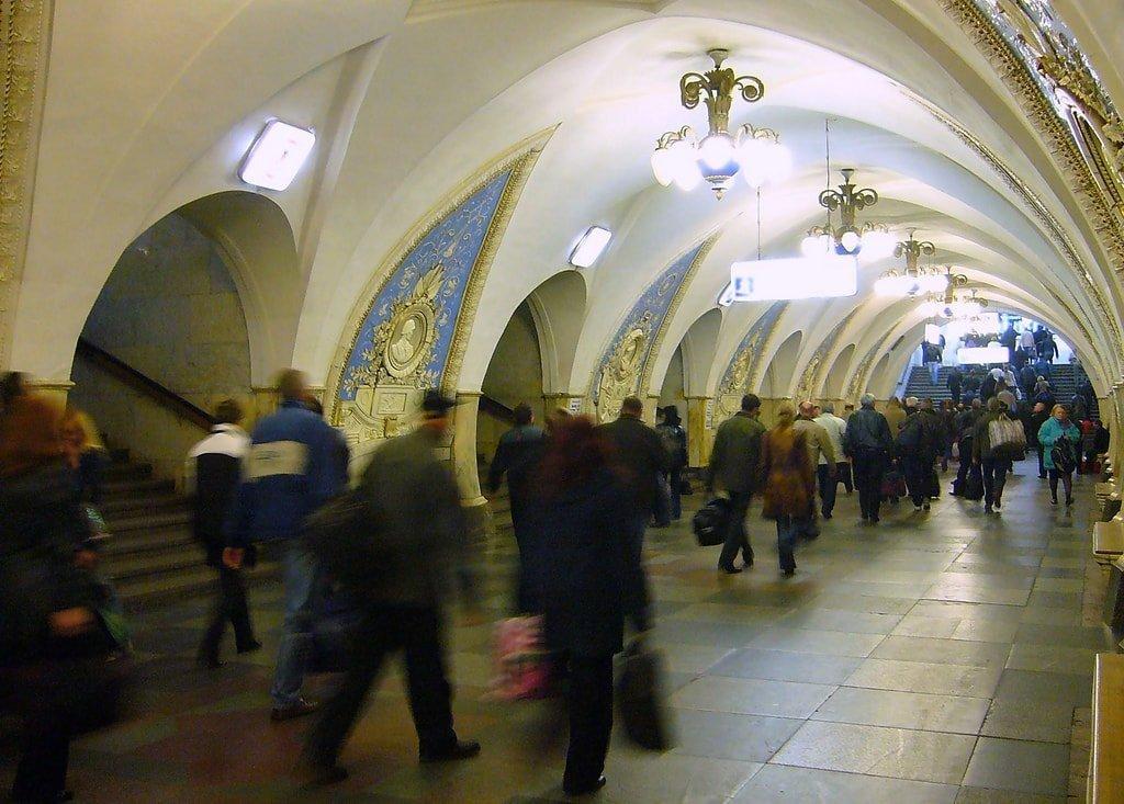 Moscow Metro architecture | © yeowatzup/Flickr