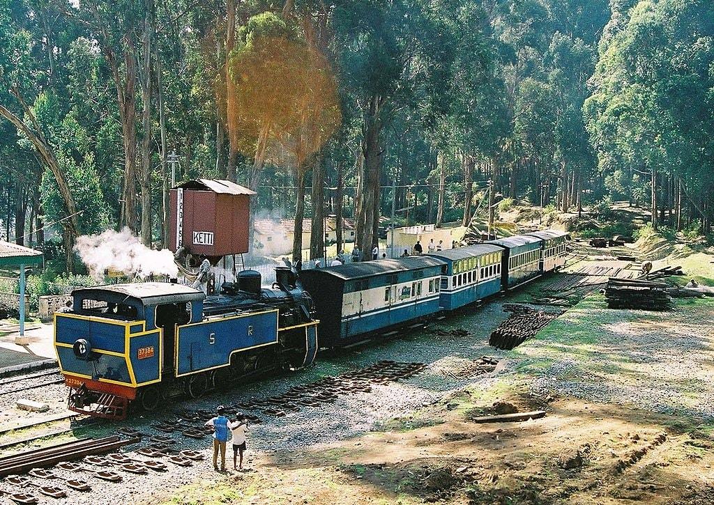 Nilgiri Mountain Railway AHEMSLTD WikiCommons