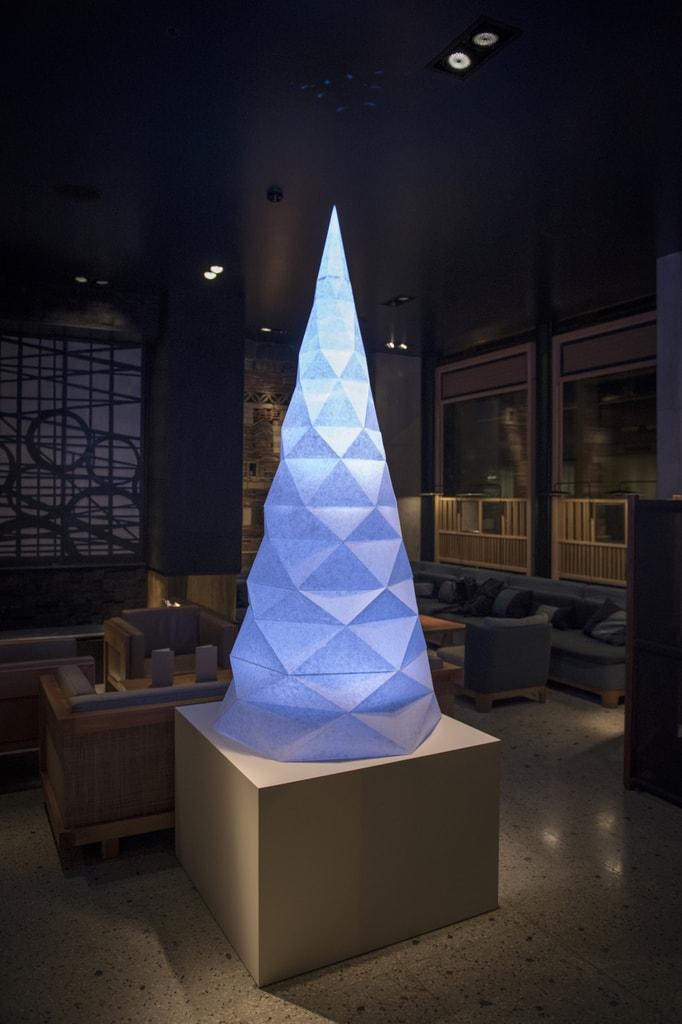 Nobu Hotel Shoreditch - Origami Christmas Tree by Papershake 1 copy