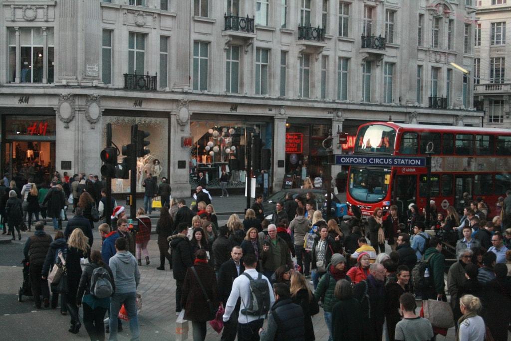 Oxford Street Busy