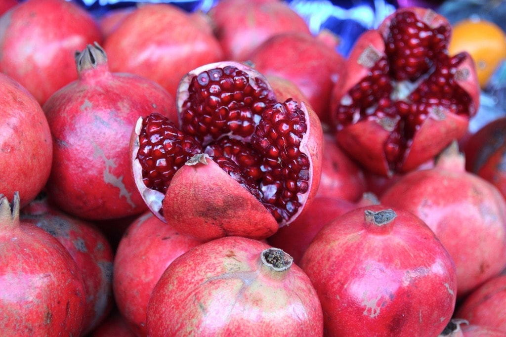 Pomegranates are eaten on yalda | 3dman_eu / Pixabay