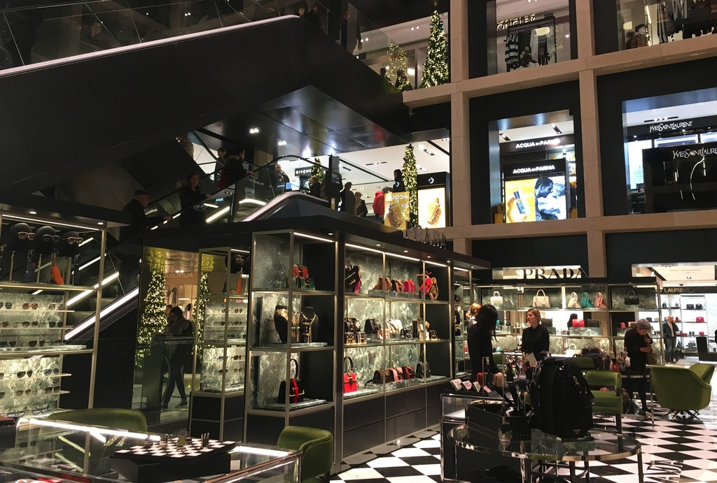 The flagship Rinascente store has eight floors of luxury shopping | © Emma Law