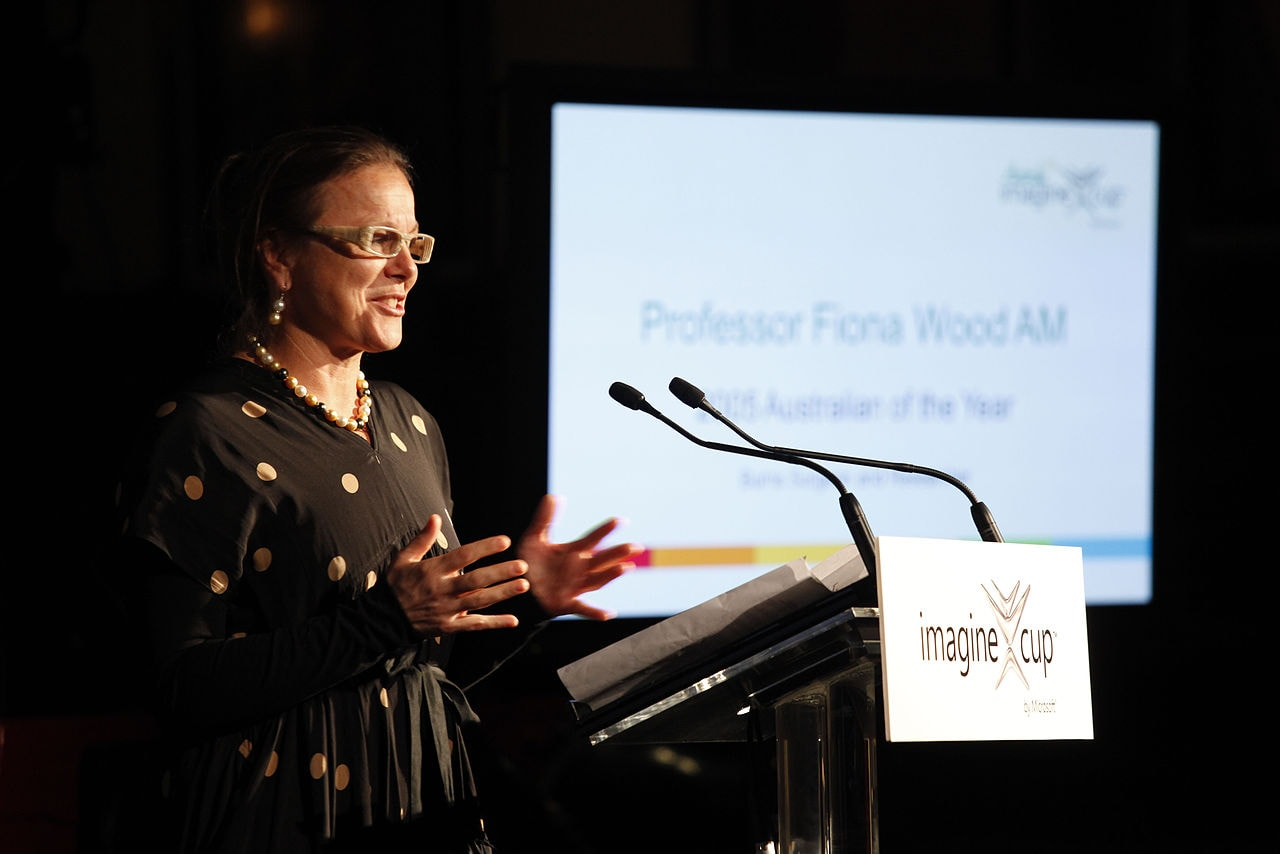 Professor_Fiona_Wood_-_2012_Imagine_Cup_Announcement_(5692389134)