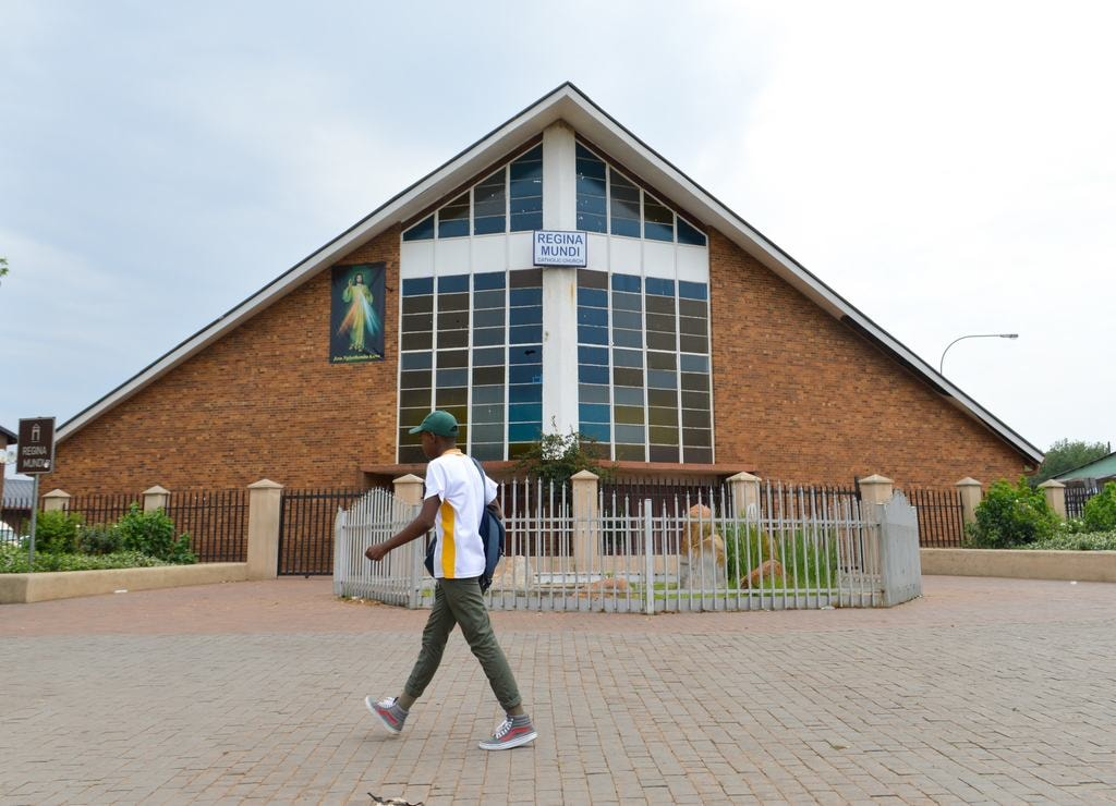 Regina Mundi Church Soweto-min