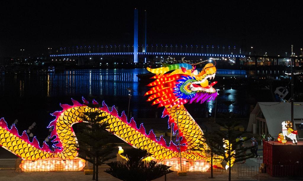 Chinese New Year celebrations, Melbourne, Australia - 20 Feb 2015