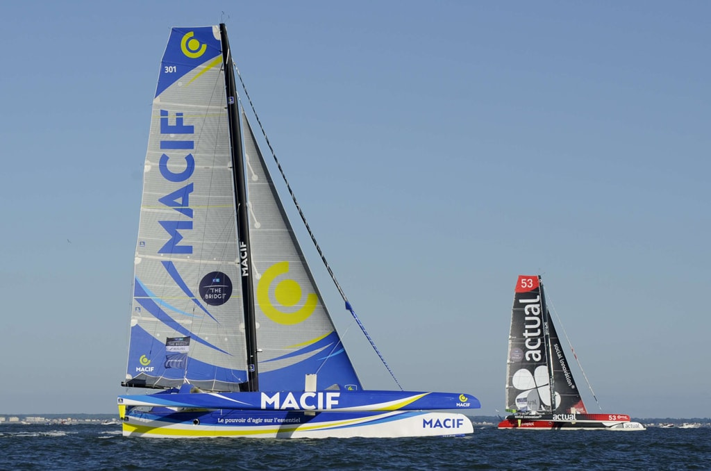 The Bridge 2017 transatlantic race, Saint Nazaire, France - 25 Jun 2017