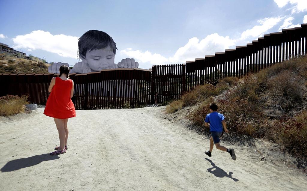 US-Mexico border installation by French artist, JR | ©PAUL BUCK / EPA-EFE / REX / Shutterstock