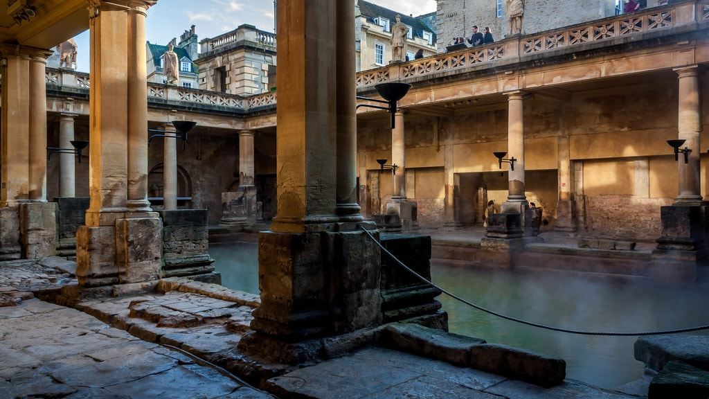 Roman Baths | PapaPiper Flickr