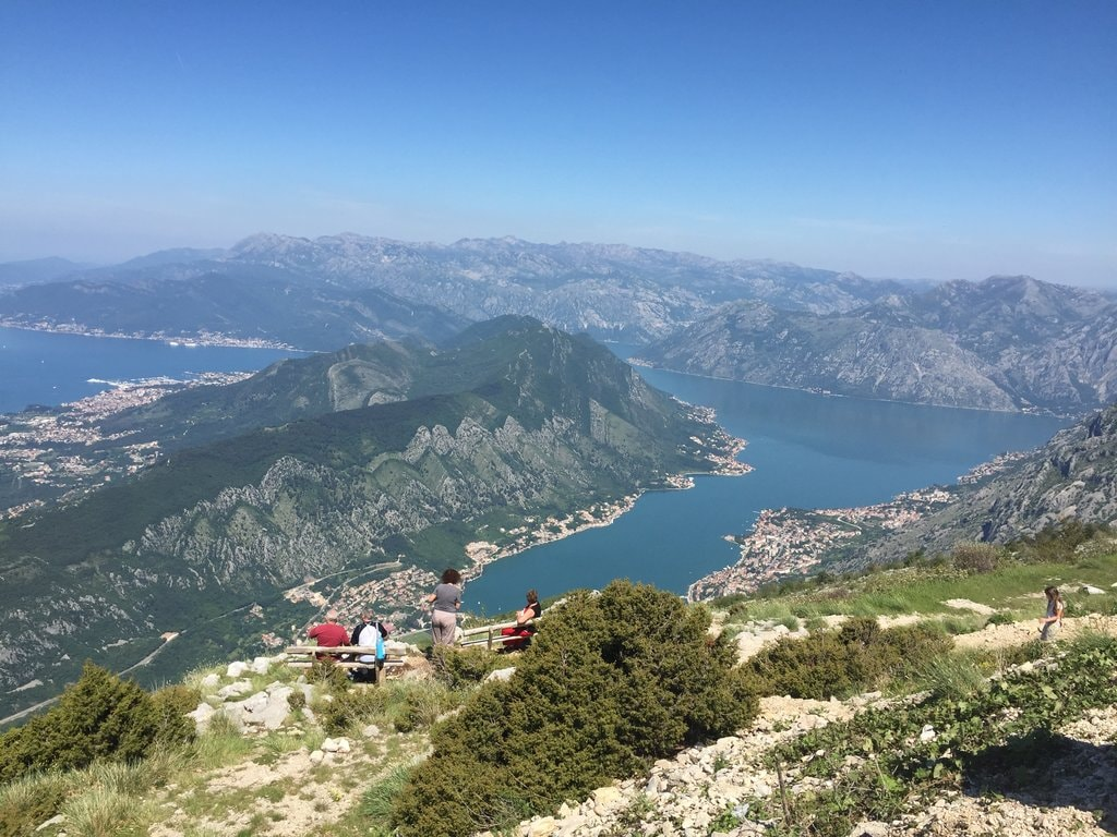 Bay of Kotor from Lovćen National Park | © Courtesy of Montenegro Pulse