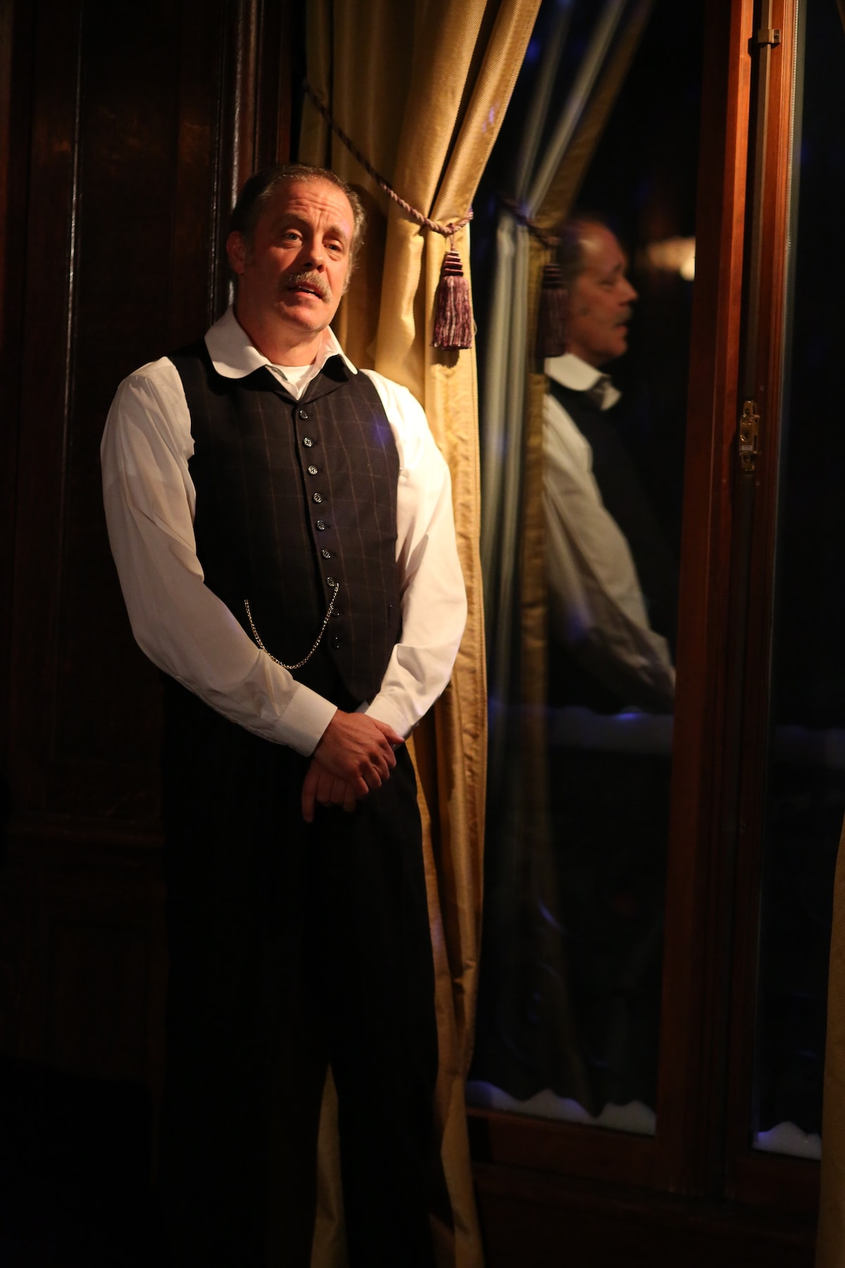 Rufus Collins in Irish Rep's THE DEAD, 1904.Photo by Carol Rosegg